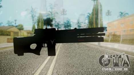 VXA-RG105 Railgun without Stripes para GTA San Andreas