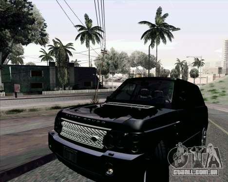 ENB Settings by J228 para GTA San Andreas por diante tela