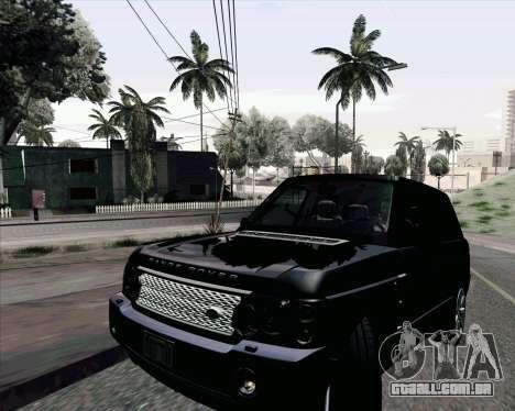 ENB Settings by J228 para GTA San Andreas por diante tela