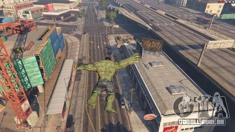 GTA 5 The Hulk sexta imagem de tela