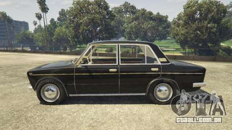 GTA 5 VAZ 2103 vista lateral esquerda