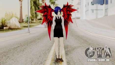 Touka Kirishima (Tokyo Ghoul) v2 para GTA San Andreas segunda tela