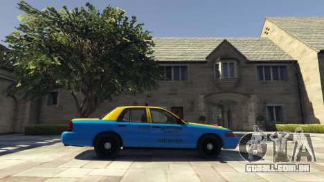 Ford Crown Victoria Taxi v1.1 para GTA 5