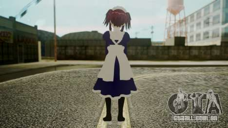 Mey-Rin [Kuroshitsuji] para GTA San Andreas terceira tela