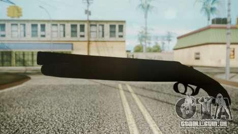 Sawnoff Shotgun (Iron Version) para GTA San Andreas segunda tela