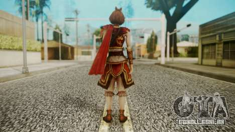 Dynasty Warriors 8 - Sun ShangXian (DLC ROTTK) para GTA San Andreas terceira tela