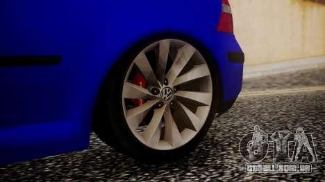 Volkswagen Golf 4 para GTA San Andreas traseira esquerda vista