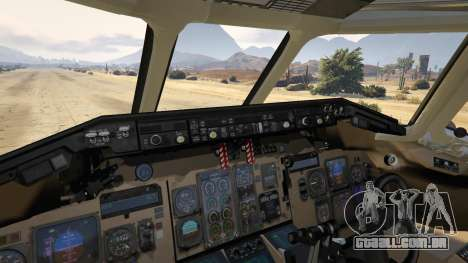 GTA 5 McDonnell Douglas MD-80 sétima screenshot