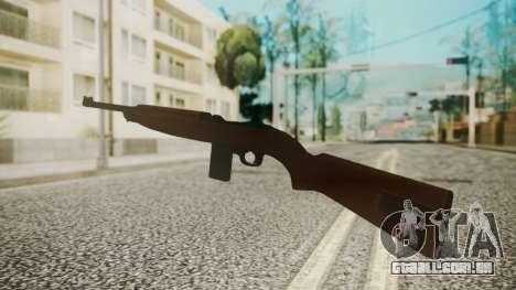 M1 Carbine para GTA San Andreas terceira tela