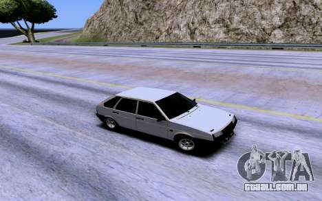 VAZ 2109 Turbo para GTA San Andreas vista superior