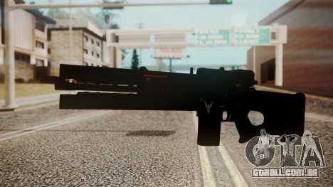 VXA-RG105 Railgun Shark para GTA San Andreas segunda tela