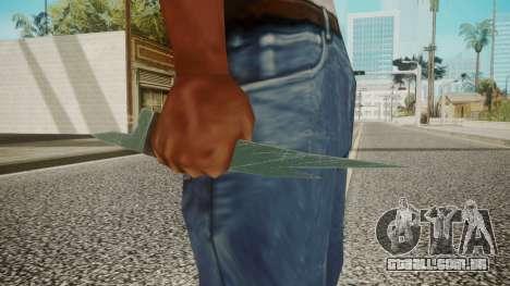 Glass Shard para GTA San Andreas terceira tela