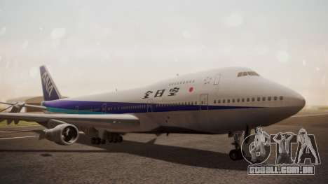 Boeing 747SR All Nippon Airways (NC) para GTA San Andreas