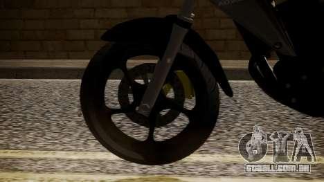 New Mega Pro para GTA San Andreas traseira esquerda vista