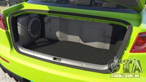 GTA 5 Mitsubishi Lancer Evolution X FQ-400 frente vista lateral direita