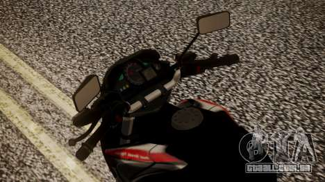 New Mega Pro para GTA San Andreas vista traseira