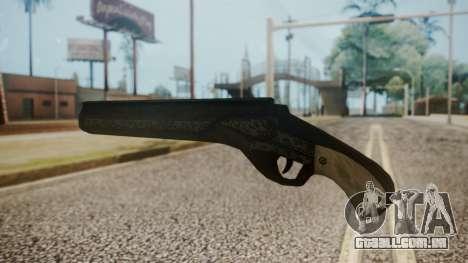 Revenant (Dantes Shotgun) from DMC para GTA San Andreas segunda tela