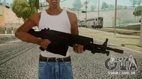 M249 Battlefield 3 para GTA San Andreas