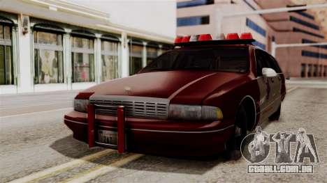Chevy Caprice Station Wagon 1993- 1996 SAFD para GTA San Andreas