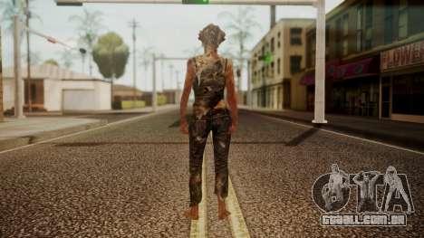 Clicker - The Last Of Us para GTA San Andreas terceira tela