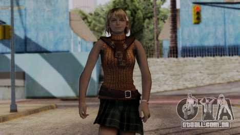 Resident Evil 4 Ultimate HD - Ashley Graham para GTA San Andreas