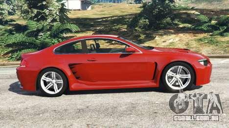 BMW M6 (E63) para GTA 5