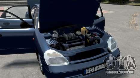 Daewoo Nubira II Sedan S PL 2000 para GTA 4 motor