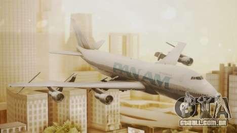 Boeing 747-100 Pan Am Clipper Juan T. Trippe para GTA San Andreas