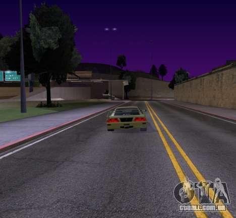 Need for Speed Cam Shake para GTA San Andreas