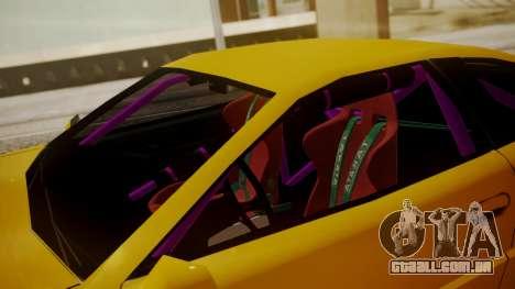Alpha Drift para GTA San Andreas vista traseira