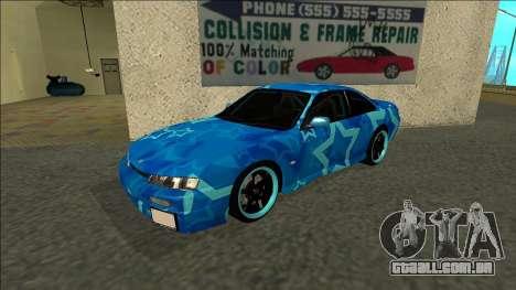 Nissan Silvia S14 Drift Blue Star para GTA San Andreas