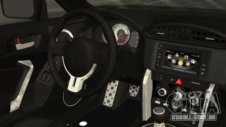 Toyota GT86 2012 para GTA San Andreas vista direita