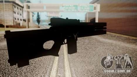 VXA-RG105 Railgun Shark para GTA San Andreas terceira tela