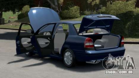 Daewoo Nubira II Sedan S PL 2000 para GTA 4 vista interior