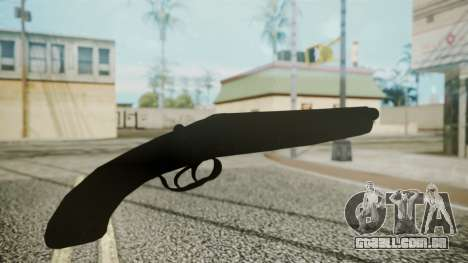 Sawnoff Shotgun (Iron Version) para GTA San Andreas terceira tela