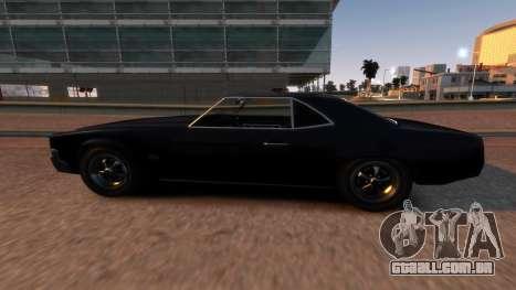 Sabre Vigero Muscle Car para GTA 4 esquerda vista