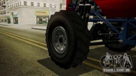 GTA 5 Vapid The Liberator IVF para GTA San Andreas traseira esquerda vista