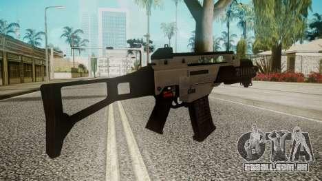 G36C Silver para GTA San Andreas segunda tela