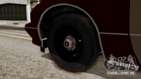 Chevy Caprice Station Wagon 1993- 1996 SAFD para GTA San Andreas traseira esquerda vista