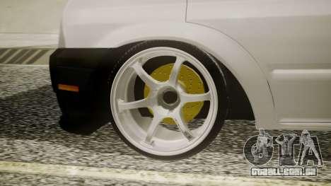 Ford Transit Hasta Ticariii para GTA San Andreas traseira esquerda vista