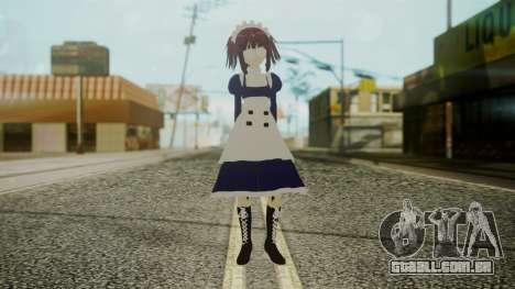 Mey-Rin [Kuroshitsuji] para GTA San Andreas segunda tela
