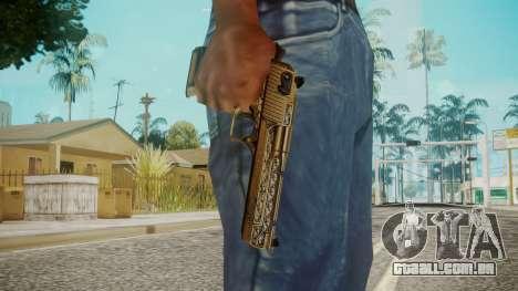 Desert Eagle by EmiKiller para GTA San Andreas terceira tela