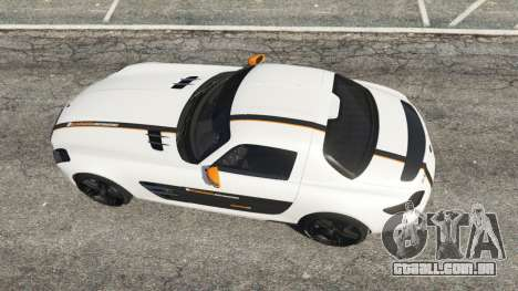 GTA 5 Mercedes-Benz SLS AMG Coupe voltar vista