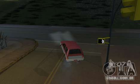 Realistic Lights para GTA San Andreas terceira tela