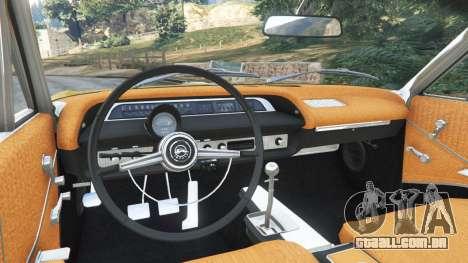 GTA 5 Chevrolet Impala SS 1964 traseira direita vista lateral