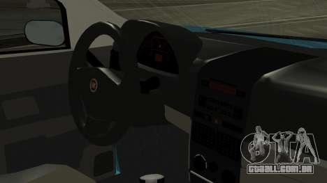 Fiat Albea Sole para GTA San Andreas vista direita
