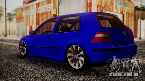 Volkswagen Golf 4 para GTA San Andreas esquerda vista