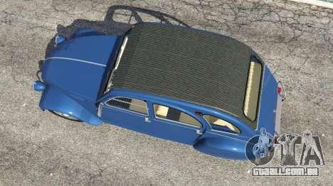GTA 5 Citroen 2CV v1.1 voltar vista