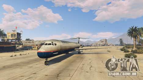 GTA 5 McDonnell Douglas MD-80 quarto screenshot