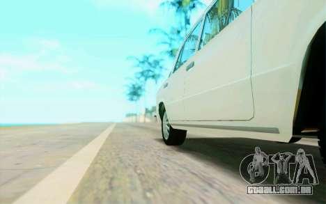 VAZ 2101 Estoque para vista lateral GTA San Andreas